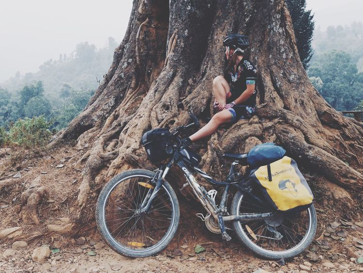 All about the offroad MTB Biking MTB ADVENTURE Cycling Offroad Cycling Manang Annapurna Circuit Cycling Nepal Leisure Activity Lifestyles Real People One Person Transportation Activity It's About The Journey Bicycle Nature Outdoors