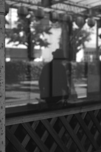 Window Black And White City Full Length Shadow Defocused Architecture Building Exterior Built Structure