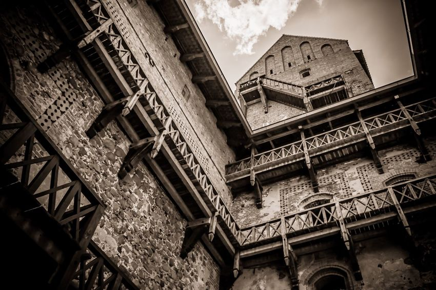 Castle Medieval Architecture Medieval Castle Trakai Trakai Castle Trakai Island Castle Lithuanian Lithuania Architecture_collection Architecture Outdoor Photography Monochrome Building Exterior Old Buildings Old Building  Old Architecture The Architect - 2017 EyeEm Awards