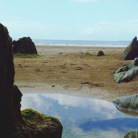 North Devon Coast: England Sea Side Beach Photography Water Reflections