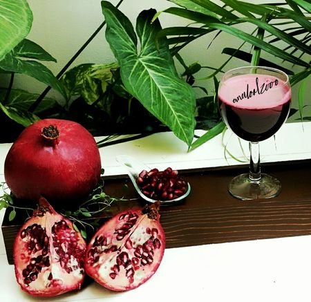 Juce Jucie Fruit Red Pomegranate Pomegranate Seed Pomegranate ❤ Pomegranate Fruit Home Made Analool