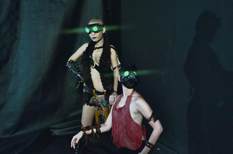 credit: Fiat Frost Warriors Theatre Arts Female Model Strongwomen