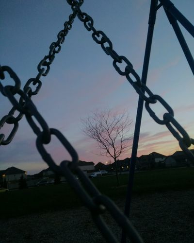 Chained Sunset