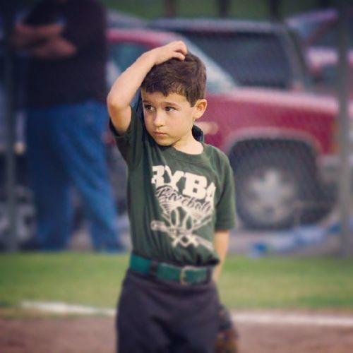 Taylor has tee ball pitcher down, job description includes Beadorable @dads4boys