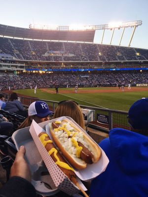 Boys of summer Foodphotography Foodporn Eats Food Corn Dog Ball Park Food Food On The Go Hot Dogs BallPark Ball Game Kansas City Baseball Game Baseball Stadium Sport Spectator Fan - Enthusiast Audience Food Stories Crowd Cheering Sports Team Watching People Match - Sport Event