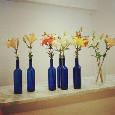 Tunig3da Decor Flowers Instart