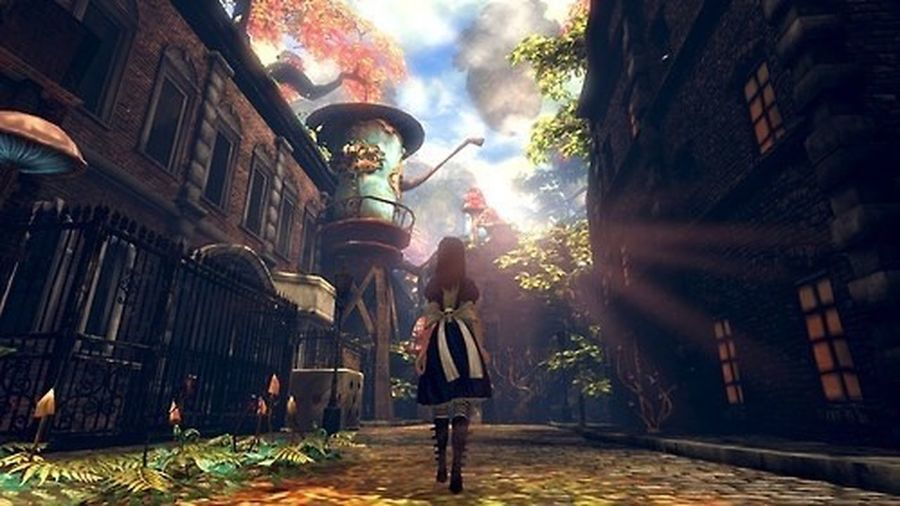 """It's not a dream... It's a memory..""🔪🔴💊 Alice Madness Returns Alice In Wonderland Alice Liddell Aliceinwonderland Videogames Tumbrl Nature Cheshire Cat Dreaming Memories"