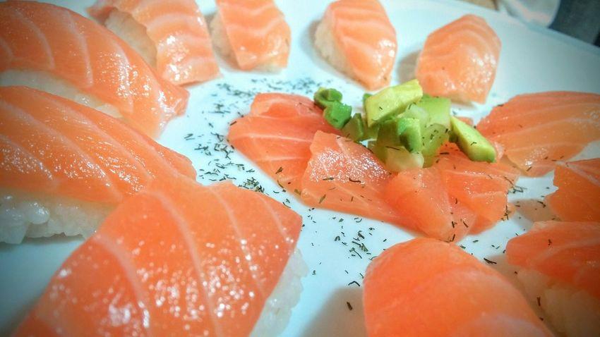 Cena Japonesa Comida Japonesa Arroz Salmon Sushi Sushi Sushitime Eneldo Food Comida