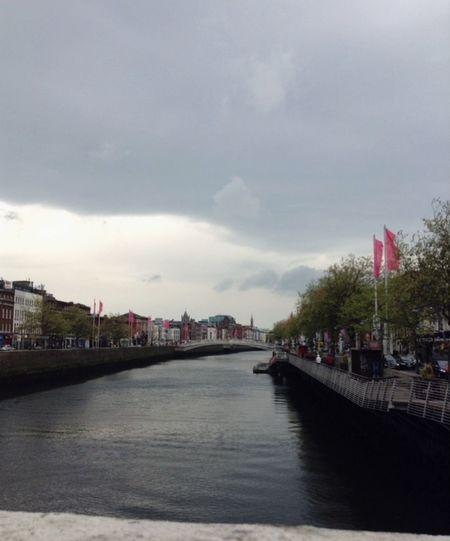 Dublin Ireland The Liffey