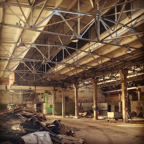 Abandonned warehouse
