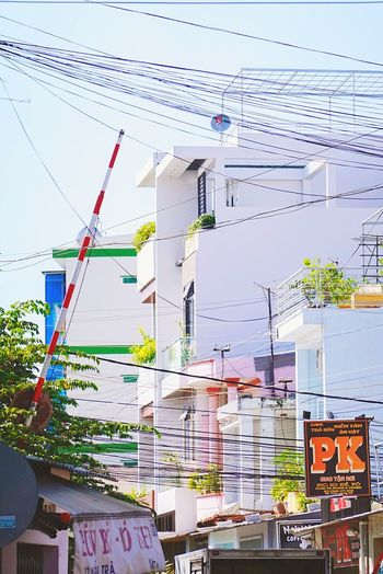 Vietnam Nha Strang Streetphotography Building Skyline