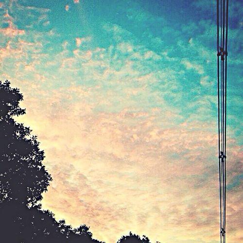 Sky is art of god Enjoying Life ?