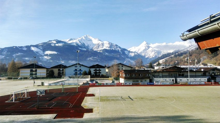 Frost Morning Austria Zell Am See Skiing View