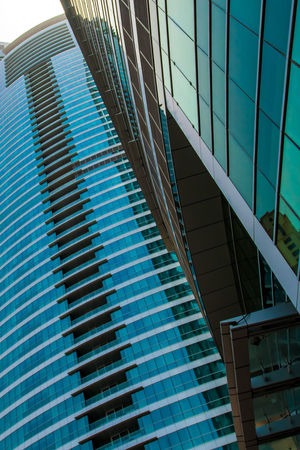 Marina Dubai Architecture Built Structure Modern Building Exterior No People Office Building Exterior Office Reflection Day Glass - Material Pattern Low Angle View City Building Sky Nature Skyscraper Outdoors Window Blue Glass
