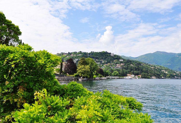 Озеро Комо в
