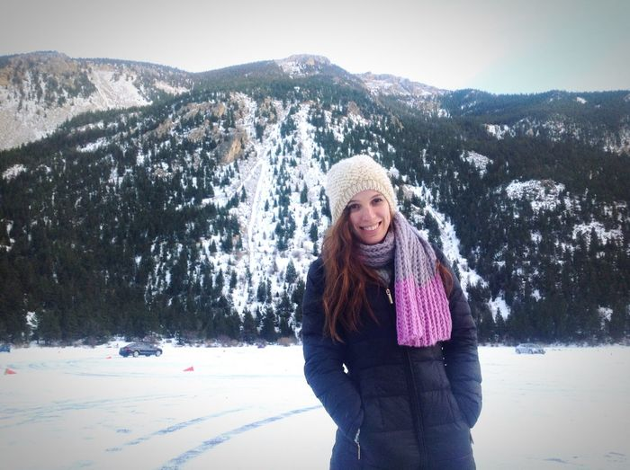 Ice in winter, water in summer! Loveland, Colorado. Loveland Colorado Beautiful Girl Trip Winter