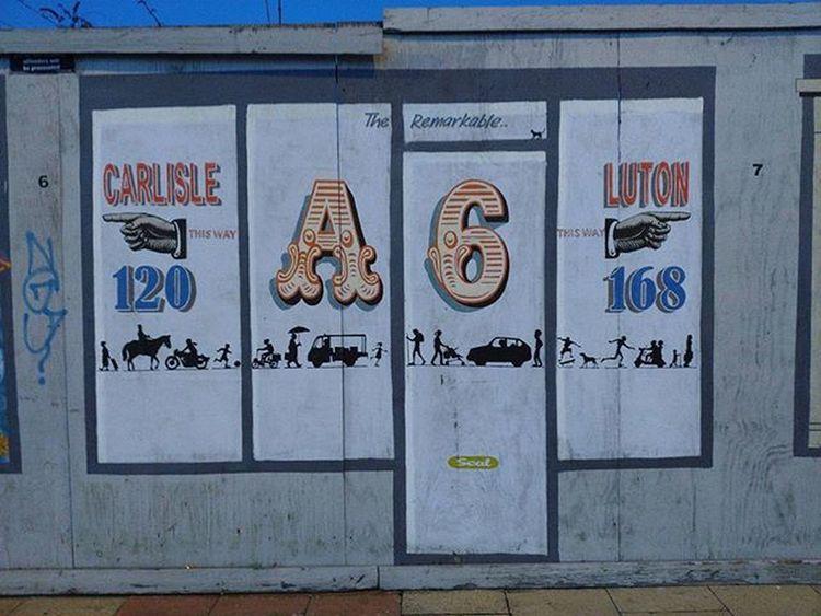 The A6 Levenshulme Luton Carlisle Igersmcr