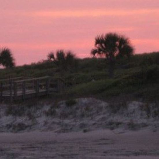 Kiawah Island Nature Sky Sunset Tranquility