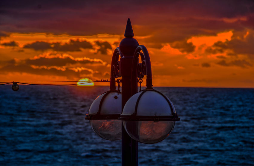 Sunset Sea Tranquility Outdoors Cloud - Sky Water Nature Horizon Over Water Beauty In Nature Victorian Lighting Aberystwyth