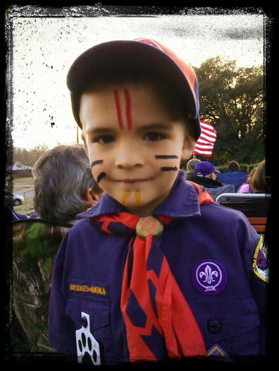 Cub Scout ceremony for my grandson Ethan. Cub Scout Ceremony My Grandson Family