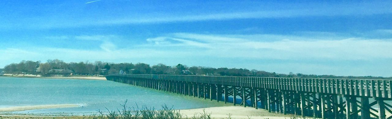 Nature Sky Tranquility Tranquil Scene Beauty In Nature Scenics Outdoors Landscape Ocean View Duxbury, Ma Duxbury Bay Powder Point Bridge