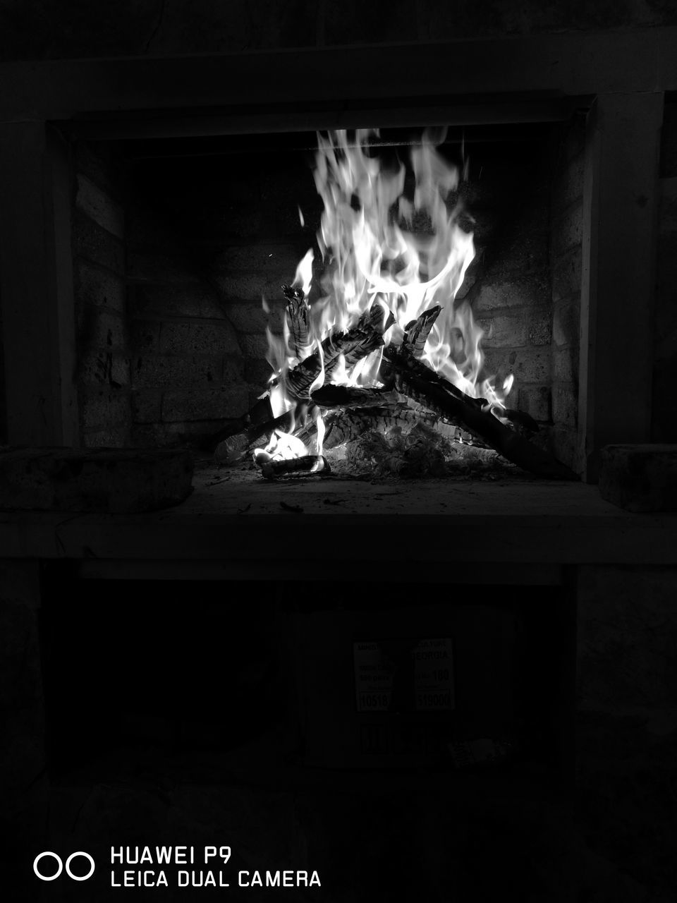 burning, flame, wood - material, heat - temperature, fireplace, built structure, no people, architecture, night, indoors, home interior, motion, building exterior, bonfire, close-up