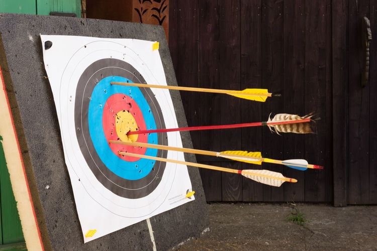 Bang On Target Archery Arrows
