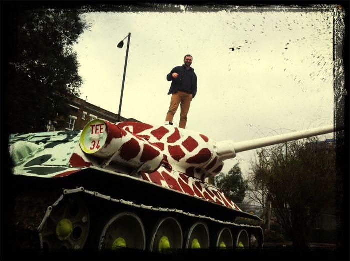 German Tank Man