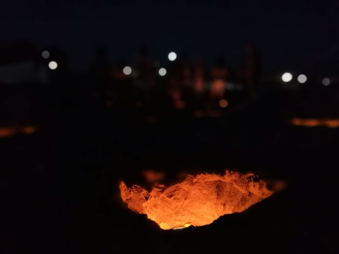 Fire Hole In The Earth Artistic