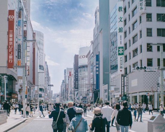 Ginza Tokyo Streetphotography City Real People Walking A Day Of Tokyo Capture The Moment From My Point Of View Snapshots Of Life From Where I Stand Oldlens Takumar Japan EyeEm Best Shots - Landscape City Urban Landscape Cityscape Holiday Japan Photography
