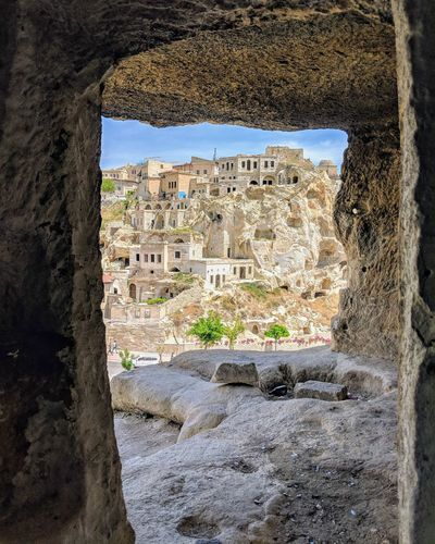 Kapatokien Region Türkei Turkey Türkisch Window Architecture Building Exterior Close-up Built Structure Old Ruin Archaeology Ruined Ancient History