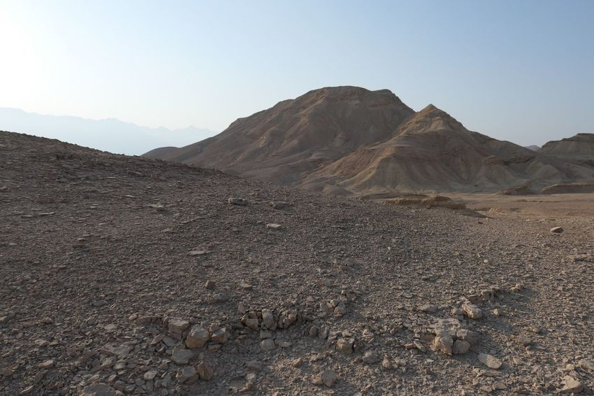 Israel Negev  Arid Climate Mountain Sky Scenics - Nature Clear Sky Mountain Range Landscape Beauty In Nature Nature Tranquil Scene Environment Day Tranquility No People Rock Desert Physical Geography Non-urban Scene