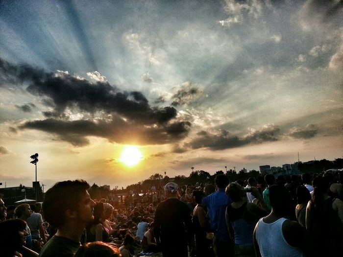 Lovely night for some Björk outdoors... Live Music EyeEm Best Shots Don't Be Square Skyporn