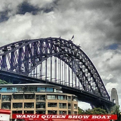 Sydneyharbour Oldtimer Ferryboat Coathanger harbourbridge sydneytallship