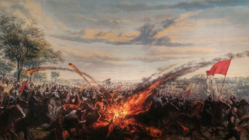 Istanbulunfethi Panaroma 1453 Museum TopKapı Tarih  History Istanbul Türkiye 💪❤