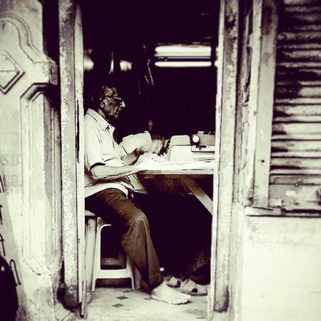 Type Mumbai Heritage Old Oldman Oldtimer Oldschool Timetravel History Relics Typewriter Typist Bygoneera Offline Blackandwhite Blacknwhite Bnw Bw Nocolour Barefeet Nostalgia Instamemories Instaindia Incredibleindia Instacool