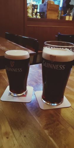 Two weeks after our first marvelous Ireland trip, back in Munich. Munich Germany Huawei P20 Molly Malone Guinness Guinness Time Guinness Munich Ireland Frothy Drink Mocha Latte Drinking Glass Cafe Table Milk Ice Cube Drinking Straw First Eyeem Photo