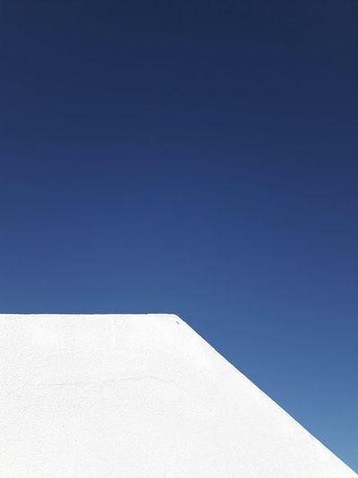 Blue Clear Sky No People Day Sky Minimalism Simplicity Negative Space Minimal Architecture Instagramer Umeugram
