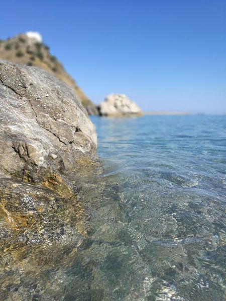 Summer Isole Eolie Eolian Islands Capo D'Orlando Sangregorio San Gregorio Sicily Nebrodi Closeup Close Up Close Up Photography Sea Beach Sand Nature Water Rock - Object No People Blue Wave Day Beauty In Nature Horizon Over Water Close-up Outdoors