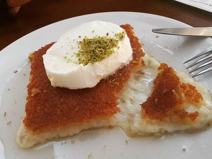 😛😛😛😛 تركيا _ إنطاكيا ب 29/12/2015 تصوير 📷 @ayhm_abdulwli ________________ Antakya Turkey Hatay  Künefe  تركيا Food Ymm Photo