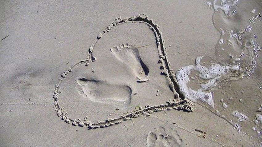It's my Love Longisland Longbeach Beach Romantic Sandwriting Sand Heart Longislandbeach Newyork Newyork_instagram Sand Lovely Lovequotes Lovers