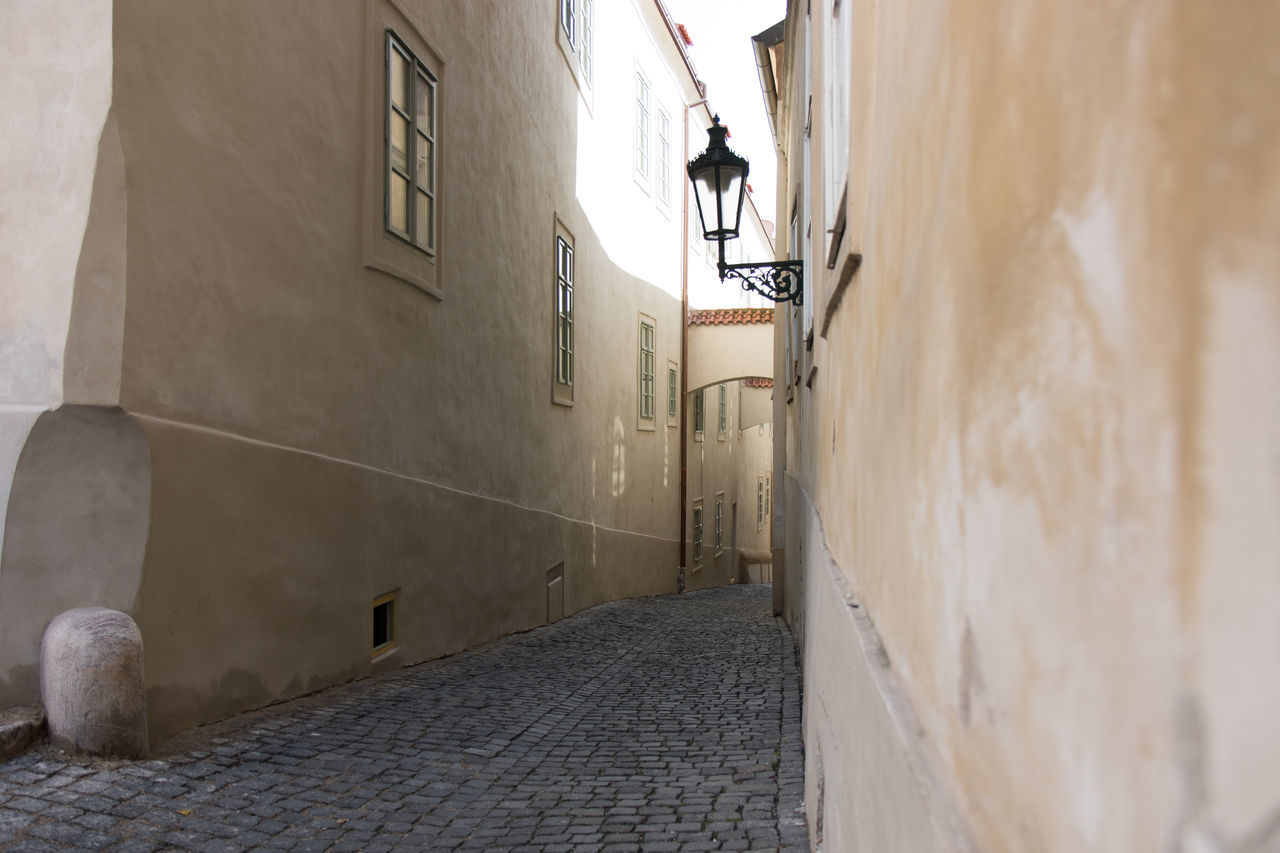 Alley Amidst Walkway