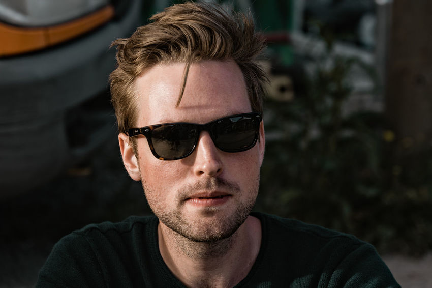 summer vibes Close-up Day Focus On Foreground Front View Headshot Looking At Camera One Person Outdoors People Portrait Portraits Protrait Real People Stubble Sunglasses Young Adult Young Men The Portraitist - 2017 EyeEm Awards