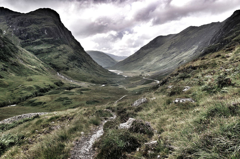 Glencoe, Highlands of Scotland Beauty In Nature Glencoe Highlands Landscape Mountain No People Outdoors Scotland Tranquil Scene Valley