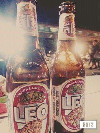 วิ่งเสร็จ ต่อด้วยลีโอ คนไทยรู้จัก คนต่างชาติจะรู้จักม้ายยยย 😁 Relaxing Enjoying Life Hanging Out สายแดก Eating Out