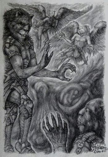 """""""Faces of Courage"""" Graphite Art Illustration Art, Drawing, Creativityfantasy"""