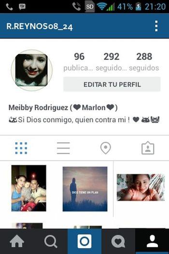 Estoy en instagram!! Siganme y los sigo ahahaa 😜😜😜😜😜