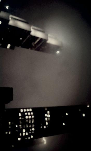 Gotham Monochrome Foggy Night City Atlanta