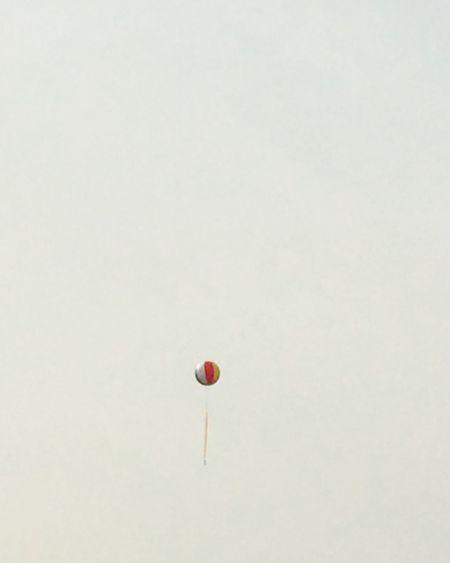 Symbol Balloon Festival No People Many People Far Air 상명대, 대학농구를 알리는 거대한 풍선.