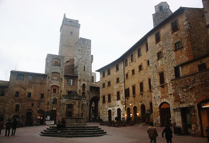 Sangimignano San Gimignano MedievalTown Medieval Architecture Medieval City Medieval In The Medieval City Italianvillas Italianvilage Italiantown